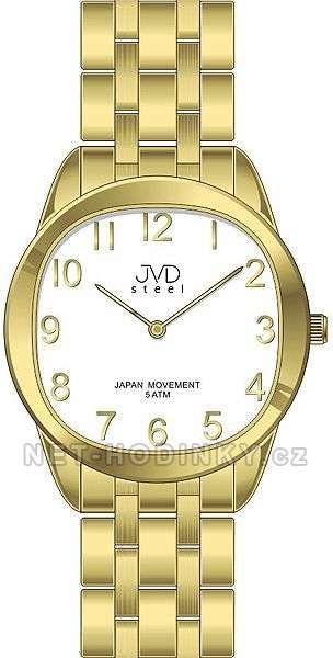 Náramkové dámské hodinky JVD steel J4116.3.3 153997 Hodiny