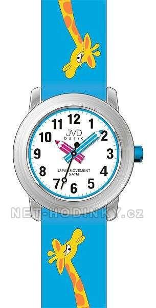 JVD Náramkové dětské hodinky J7121.1 růžová, J7121.2 modrá, J7121.3 bílá 154024 J7121.1 růžová