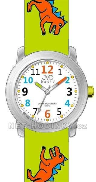 JVD Náramkové dětské hodinky J7123.1 tm. modrá, J7123.2 zelená, J7123.3 sv. modrá 154025 J7123.1 tmavě modrá