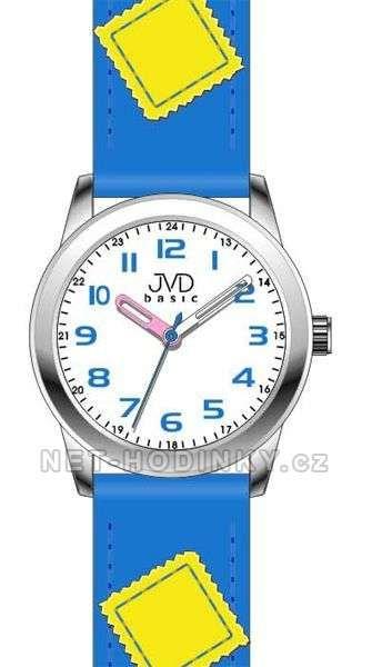 Náramkové dětské hodinky JVD basic W61. 1.1, W61.2.2, W61.3.3 154275 W61.3.3 modrá