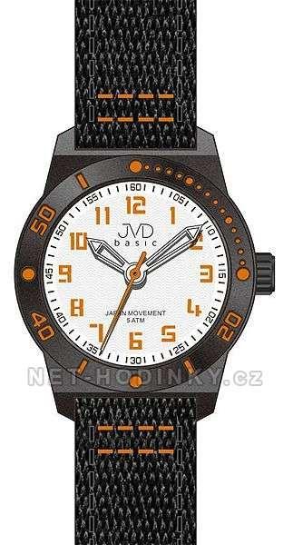 Náramkové hodinky JVD basic J7129.2, J7129.3 154257 J7129.3.3 červená
