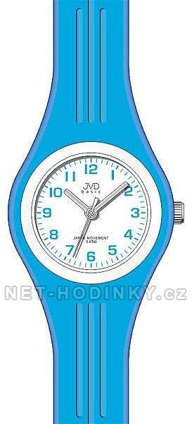 Náramkové hodinky JVD basic J7134.1.1, J7134.2.2, J7134.3.3 154261 J7134.1.1 modrá