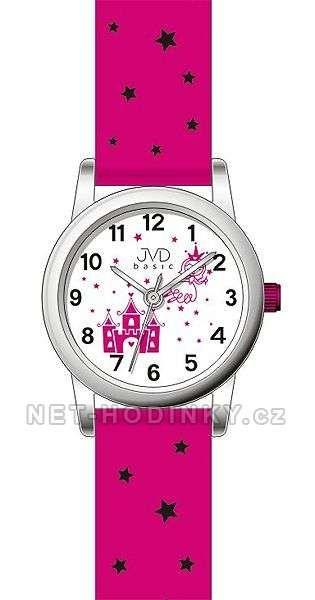 Náramkové hodinky JVD basic J7135.1.1 bílá 154262 J7135.2.2 růžová