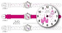 Náramkové hodinky JVD basic J7135.1.1 bílá 154262 Hodiny