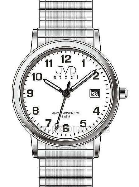 Náramkové hodinky JVD steel J1084.1.6 154287