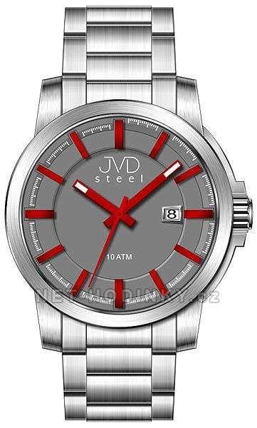 Náramkové hodinky JVD steel W48.1.1, W48.2.2, W48.3.3 154280 Hodiny