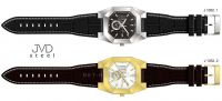 Náramkové hodinky pánské, dámské J1052.1.1 kožený pásek 154027 JVD Hodiny