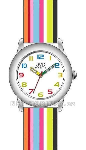 Náramkové hodinky pro kluky, holky JVD basic W58.1.1, W58.2.2, W58.3.3 154272 W58.3.3