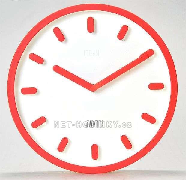 Nástěnné hodiny JVD TIME H81.1 153539 H81.3 hnědá