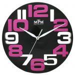 Nástěnné hodiny plastové JVD H107.3 zelená, H107.5 růžová 154209