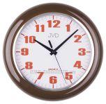 Nástěnné plastové hodiny sweep HA5.1 hnědá, HA5.2 bílá, HA5.3 zelená 154036
