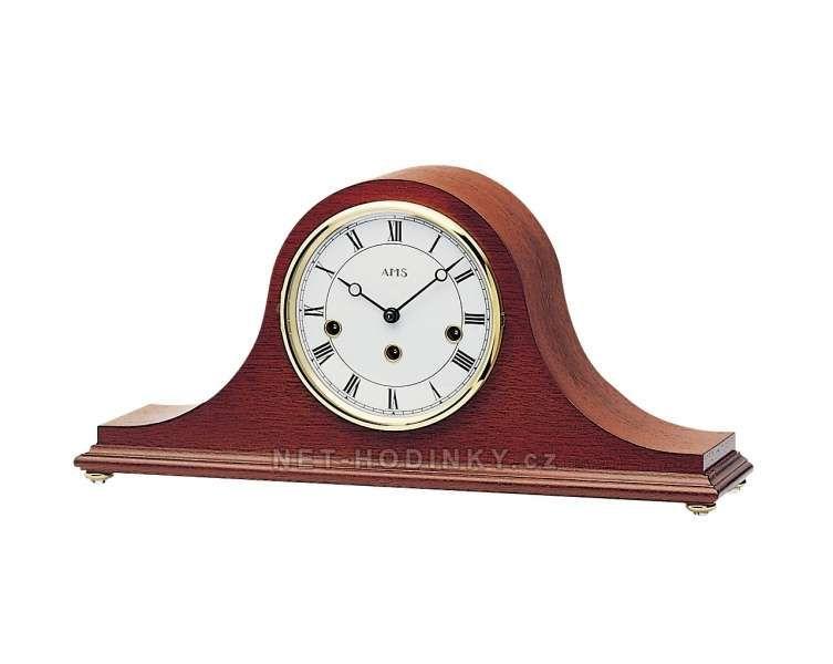 Stolní mechanické hodiny AMS 2193/1 ořech, AMS 2193/8 mahagon 154126