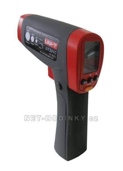 Teploměr bezkontaktní UNI-T UT301CC laserové zaměřování 153923