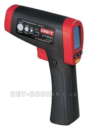 Teploměr bezkontaktní UNI-T UT302CA laserové zaměřování 153924