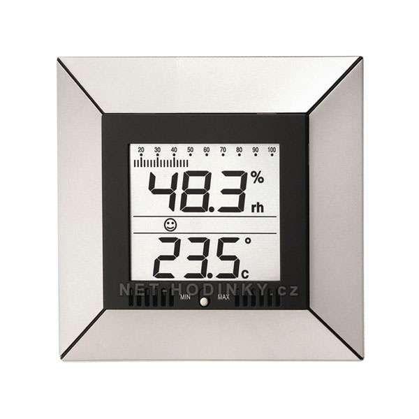 Teploměr digitální s vlhkoměrem WS9410.00 na stěnu nebo na stůl 153915