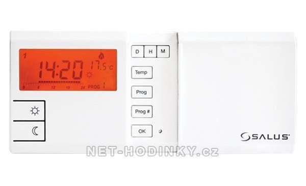Týdenní programovatelný termostat Euro Thermo 091FL SALUS bílá 153884