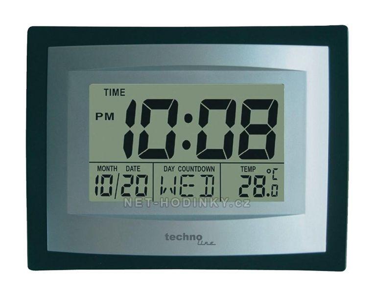 Technoline Digitální nástěnné hodiny Techno Line WS8004.1 Jumbo 154676