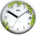 Nástěnné hodiny SKLADEM IHNED zelená Hodiny