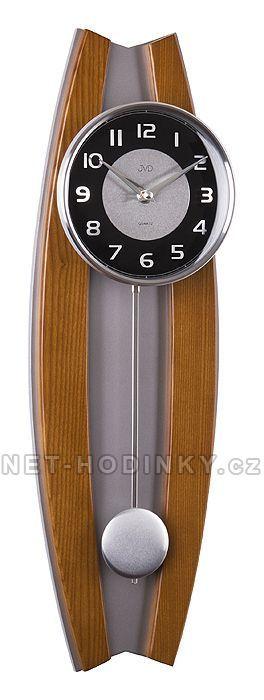 Kyvadlové hodiny JVD N13003/11.1, N13003.41.2, N13003.68.3 154411 N13003.41.2 třešeň