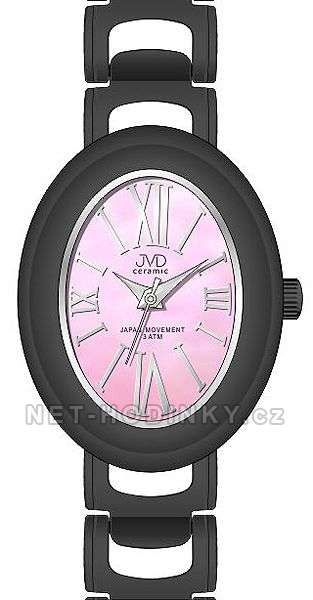 Náramkové hodinky dámské JVD ceramic J6010.1, J6010.2, J6010.3 154328 J6010.2