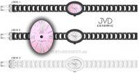 Náramkové hodinky dámské JVD ceramic J6010.1, J6010.2, J6010.3 154328 Hodiny