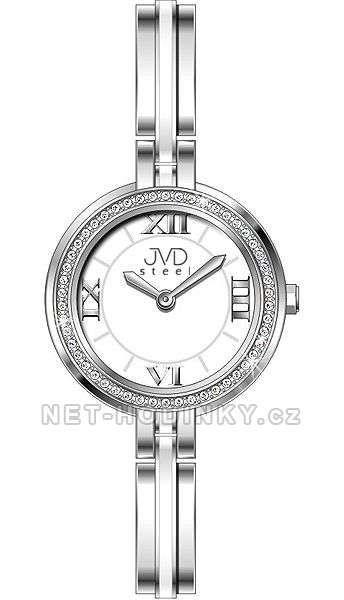 Náramkové hodinky dámské JVD steel W24.2.3 154302 Hodiny