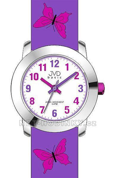 Náramkové hodinky dívčí JVD basic J7142.6.1, J7142.5.2, J7142.3.3 154307 J7142.6..1