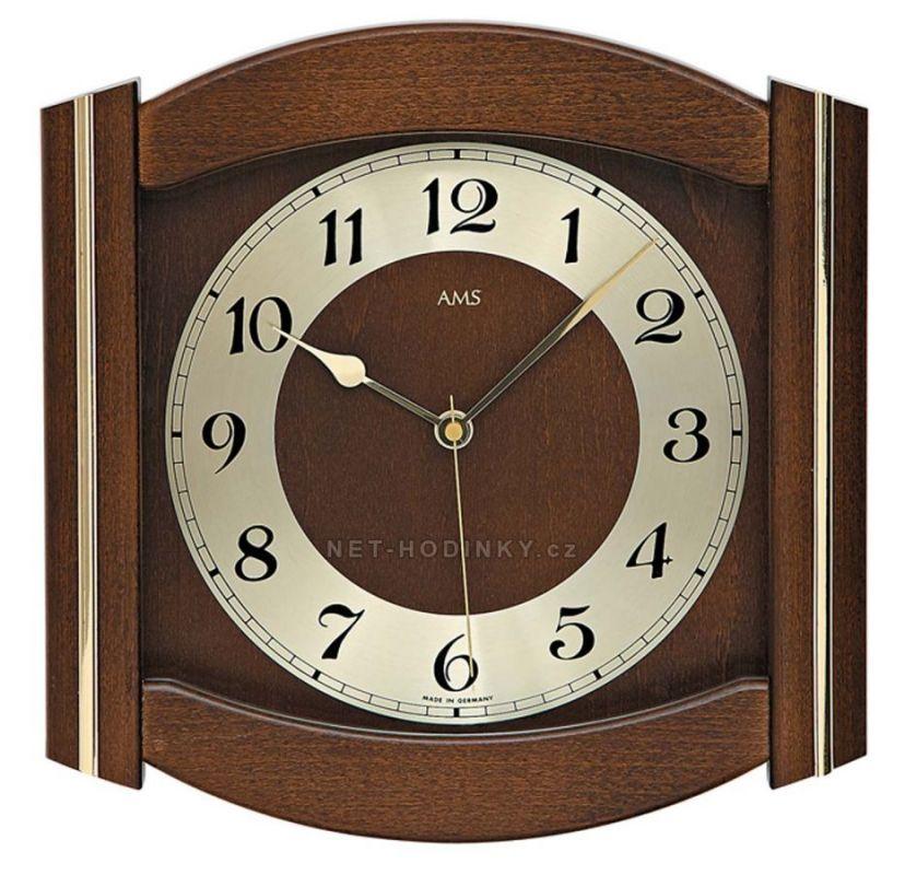Nástěnné hodiny AMS 5822/1, AMS 5822/4, AMS 5822/18 rádiem řízené 154823 AMS 5822/18