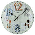 Nástěnné hodiny AMS 5951 rádiem řízené 154825