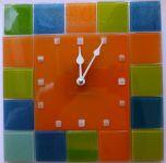 Nástěnné hodiny čtverec fusing 154898