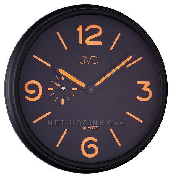 Nástěnné hodiny JVD quartz HA11.1, HA11.2 154489 HA11.1
