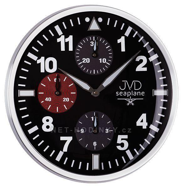Nástěnné hodiny JVD seaplane HA15.2, HA15.1 154488 Hodiny