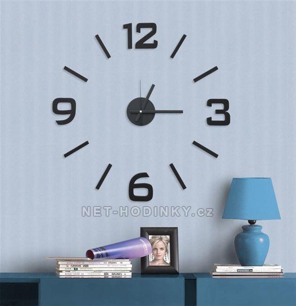 Nástěnné nalepovací hodiny NOVINKA 154885 Nástěnné nalepovací hodiny 1