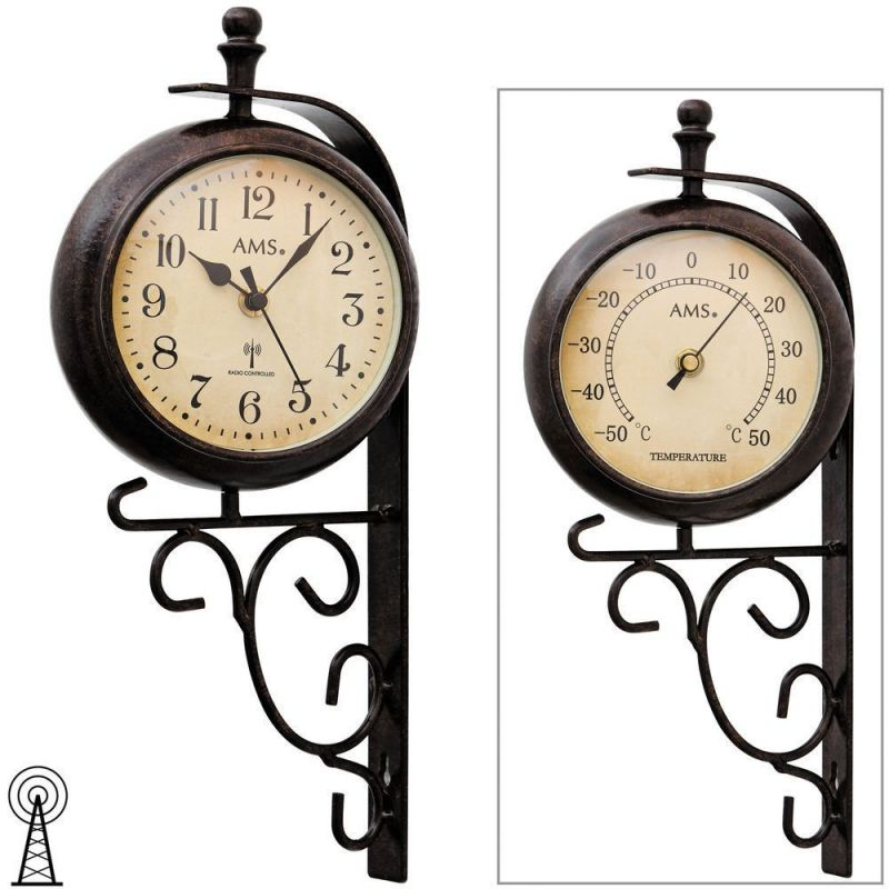 Retro nástěnné hodiny AMS 5961 154832