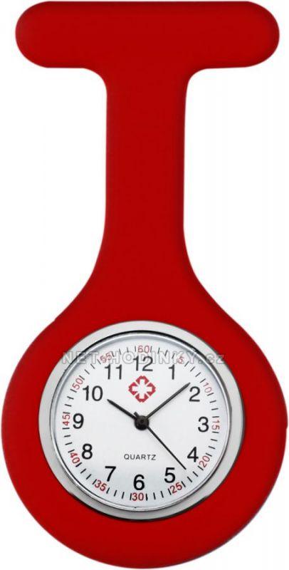 Sesterské silikonové hodinky s kvalitním quartzovým strojkem WB08X.10479.C.1 154775 červená