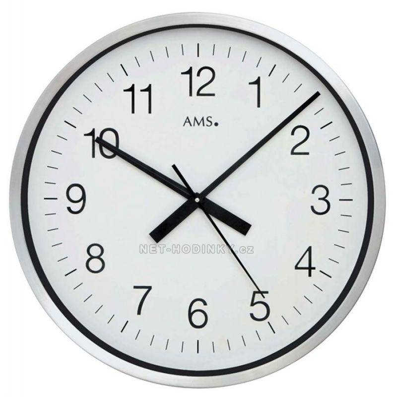 Velké nástěnné hodiny AMS 5949 rádiem řízené 154822