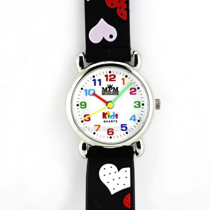 Dívčí hodinky se srdíčky W05M.10272.A.0831 155840