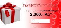 Dárkový poukaz 2000,- Kč s DOPRAVOU DÁRKU ZDARMA 156085