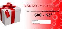 Dárkový poukaz 500,- Kč 156083