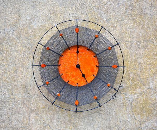 autorské hodiny Drátěné hodiny Karmen 156415