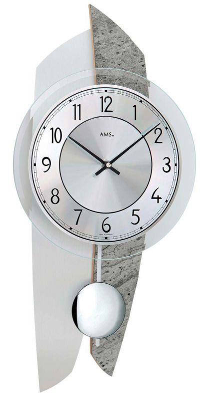 Kyvadlové hodiny AMS 7410 156098 Hodiny