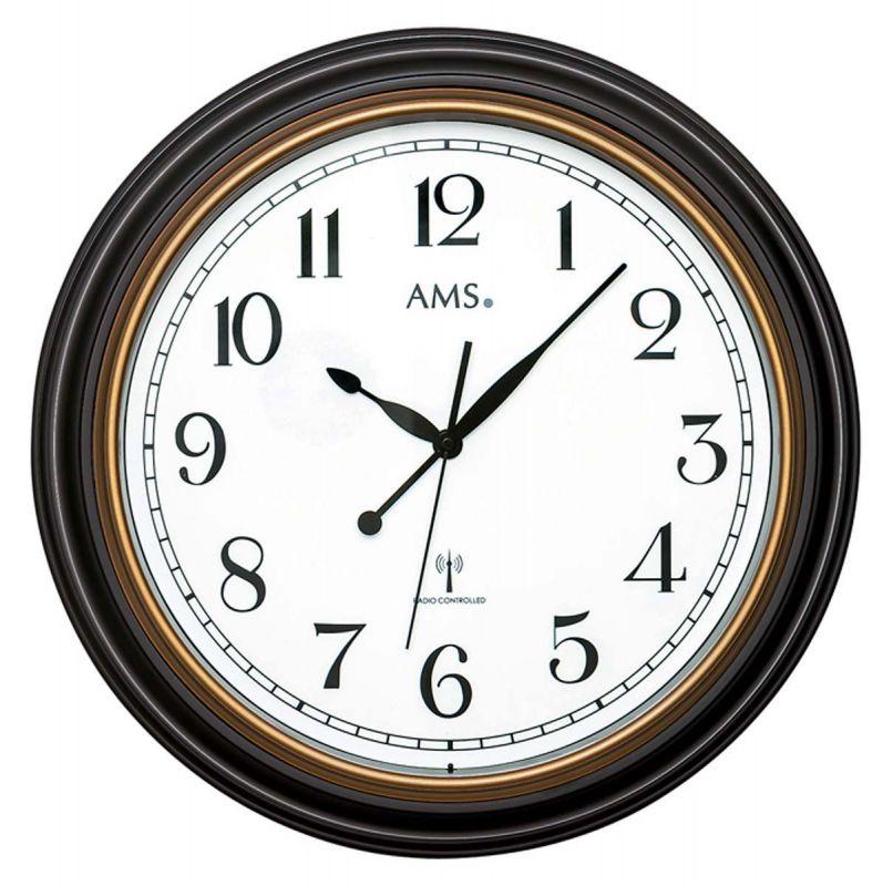 Nástěnné hodiny AMS 5978 rádiem řízené 156135