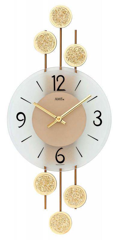 Nástěnné hodiny AMS 9439 156141