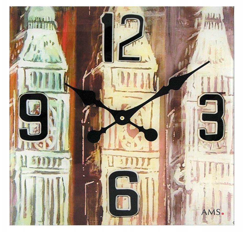 Nástěnné hodiny AMS 9489 156132