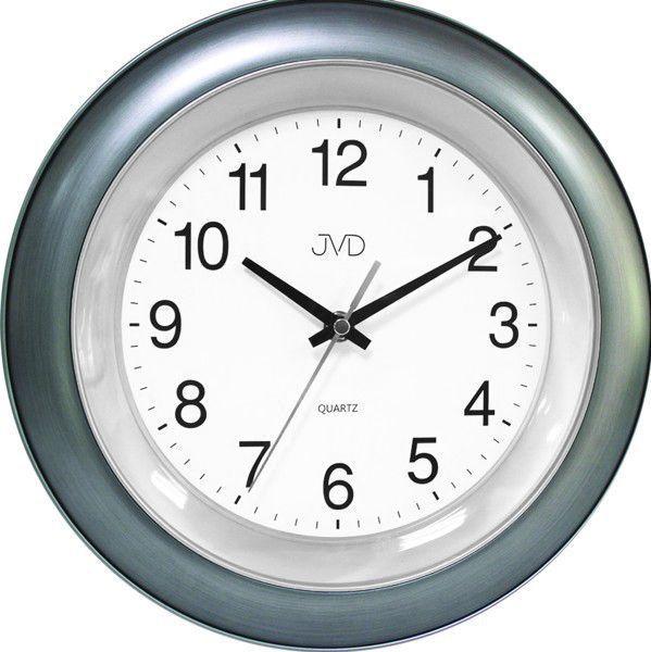 Nástěnné hodiny JVD TS13.2.2 šedá 156154