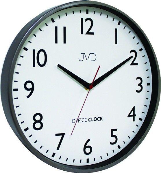 Nástěnné hodiny JVD TS20.1.1 černá kulaté 156150