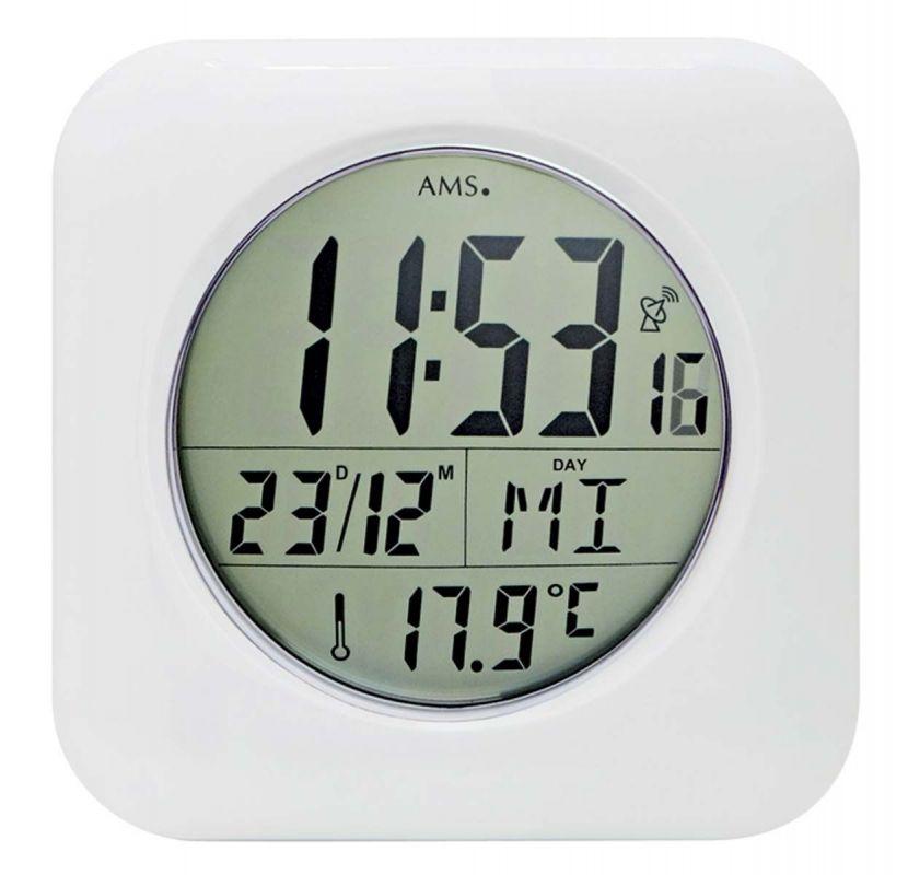 Nástěnné hodiny rádiem řízené AMS 5930 156122