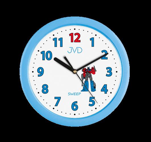 Dětské nástěnné hodiny JVD H12.6 156942