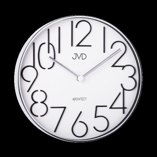 Designové kovové hodiny JVD -Architect- HC06.1 157345