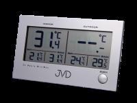 Hodiny na zeď Digitální teploměr JVD T29 157243 Designové hodiny